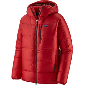 Patagonia Fitz Roy Untuva Parkatakki Miehet, fire/oxide red